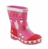 Viking Pink/rode kinder regenlaarzen sol roze