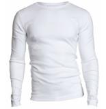 Garage Semi bodyfit t-shirt rn l/s white wit