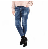 Dsquared2 2 5 pocket jeans blauw