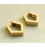 Christian Gouden oorbellen geel goud