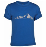 Icebreaker Tech t lite ridge shirt blauw