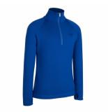 Icebreaker Skipully bodyfit 260 tech top van merino wol blauw