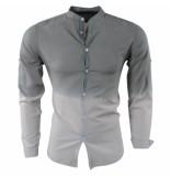 Paname Brothers Heren overhemd slim fit ciota kaki beige khaki