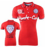 Geographical Norway Heren polo monte carlo karo rood