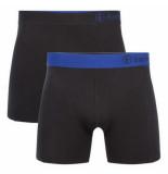 Bamboo Basics 2pack heren boxershorts zwart