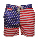 Tokyo Laundry American flag zwembroek rood wit blauw