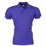 VDHT Trendy polo ongetailleerd paars