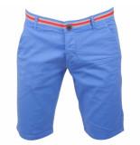 Biaggio Jeans Heren bermuda faniel indigo blue blauw