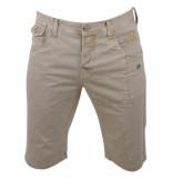 Biaggio Jeans Heren korte broek framor beige