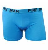 Fine Man Boxershort blauw