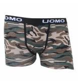 Uomo Camouflage b3306 boxershort groen