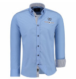 Jeel Heren overhemd 6515004 blauw