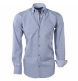 Brentford and Son Heren overhemd design in de kraag grijs