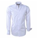 Brentford and Son Heren overhemd design in de kraag wit