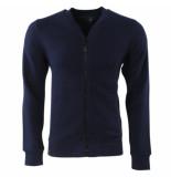 Dissident Trendy heren vest effen coley blauw