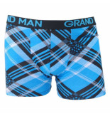 Grand Man Boxershort gestreept blauw