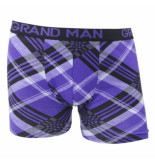 Grand Man Boxershort gestreept paars
