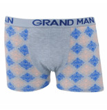 Grand Man Boxershort met motief grijs