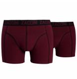 Zaccini 2pack boxershorts paars