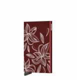 SECRID Cla cardprotector laser magnolia bordeaux zwart