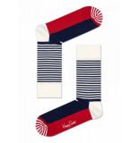 Happy Socks Sh01-068 half stripe sock