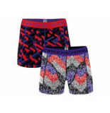 Muchachomalo Boxer 2-pack getting lost blauw