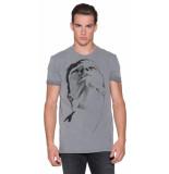 Drykorn T-shirt met lange mouwen grijs