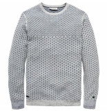 Cast Iron Ckw188404 960 r-neck cotton jacquard grey melee