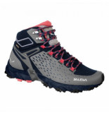 Salewa Wandelschoen alpenrose ultra mid gtx women night black zwart