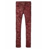 Scotch R'Belle Broek 5-pocket red rood