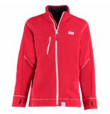 Helly Hansen Fleece vest rider full zip 200g rood