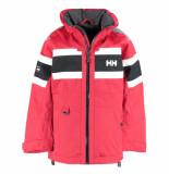 Helly Hansen Rode kinder zeiljas junior salt jacket waterproof rood