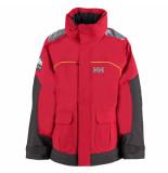 Helly Hansen Rode kinder zeiljas junior pier jacket rood