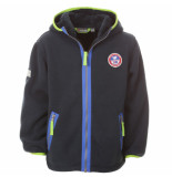 Color Kids Donker kinder fleece walo pile blauw