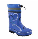 Reima Gevoerde kinder regenlaarzen askellus blauw