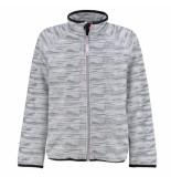 Reima Licht gemeleerd fleece vest hazelnut grijs