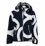 Reima Donker windfleece vest ajatus blauw