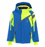 Spyder Sea ski jas boy's challenger met 10.000mm waterkolom blauw