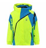 Spyder Bryte gele ski jas boy's mini challenger met 10.000mm waterkolom geel