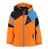 Spyder Ski jas boy's mini leader met 10.000mm waterkolom oranje