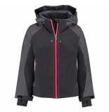 Spyder Meisjes ski jas girl's tresh met 10.000mm waterkolom zwart