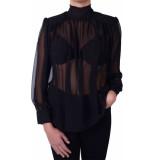 Dixie Camica blouse zwart