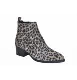 Via Vai Artikelnummer 5101033 chelsea boots panter print taupe