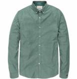 Cast Iron Csi188667 6051 long sleeve shirt comfort soft oxford wasabi groen