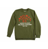 Skurk Sweater siva leger groen