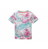 Jake Fischer Shirt korte mouw flamingo off-white ecru