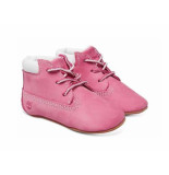 Timberland Babyschoen + muts roze