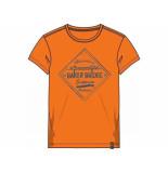 Baker Bridge Shirt korte mouw thijmen oranje