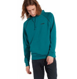 Wrangler Logo hoodie w6583i7qu groen
