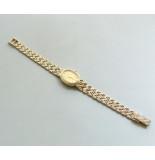 Christian Bouchard horloge geel goud